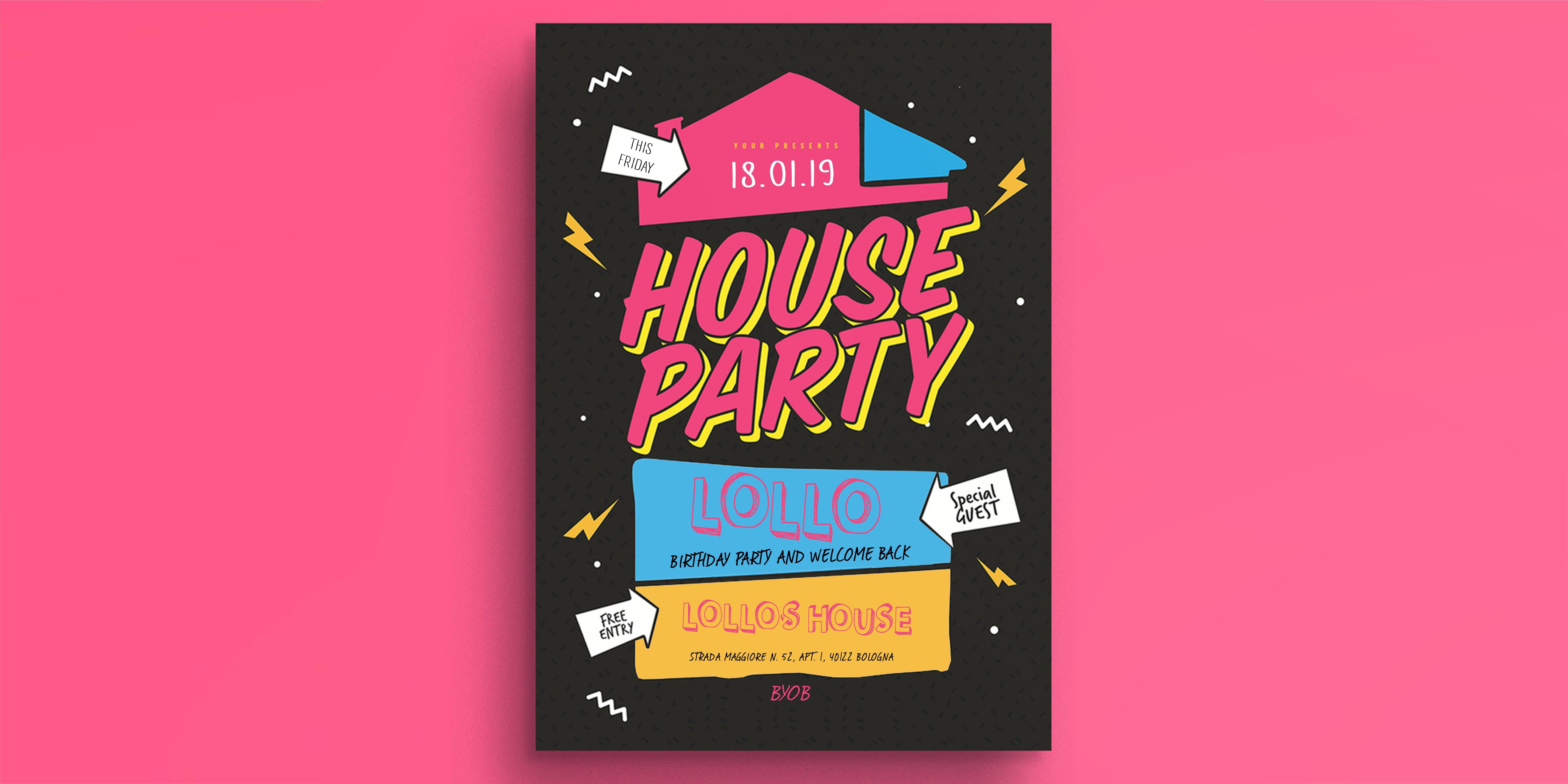 HAPPY BDAY & COMEBACK Lollo House Party
