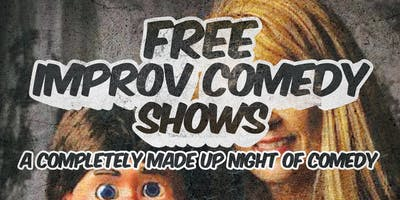 Free Improv Comedy Shows in Kakaako - April 6th 8pm & 9pm