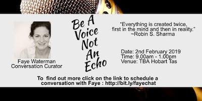 Be A Voice An Echo