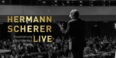 Hermann Scherer live - Inszenierung. Sichtbarkeit.