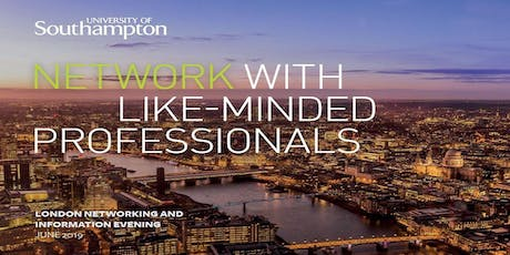 London Networking and Information Evening tickets
