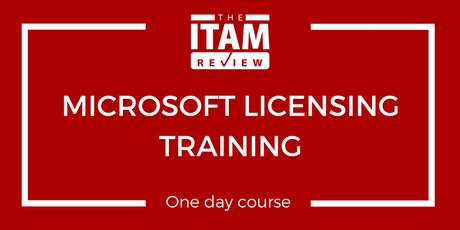 2019 Microsoft Licensing Training Course - London, UK (September) tickets