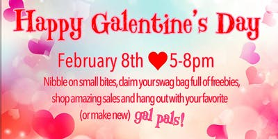 Galentine's Day at Baby Cotton Bottoms!