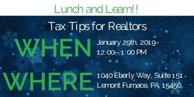 Lunch & Learn - Tax Tips for Realtors