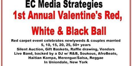 ec media strategies 1st annual valentines red white black ball tickets