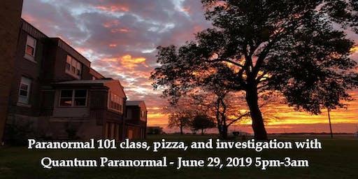 101 Class & Public Investigation with Quantum Paranormal