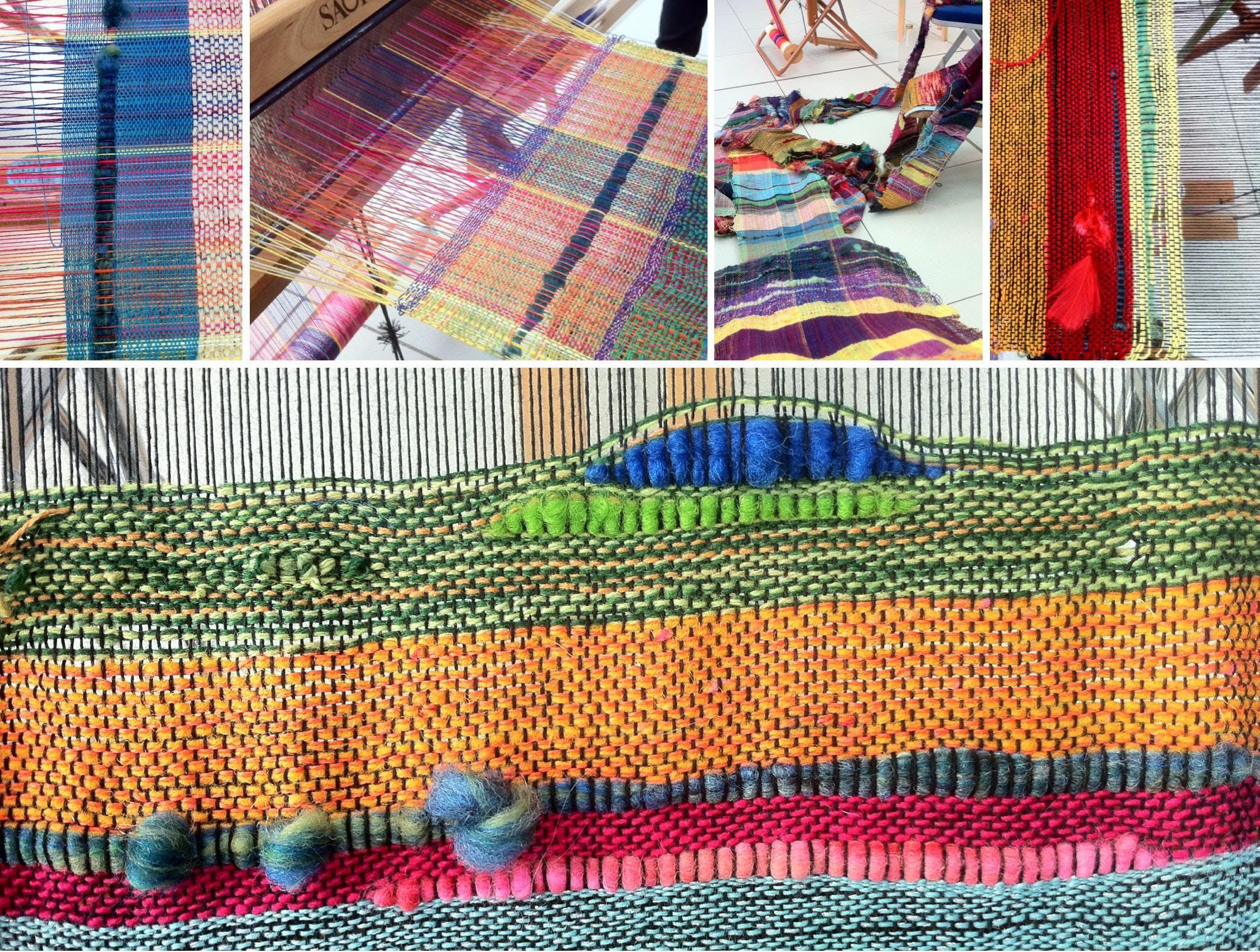 SAORI weaving for all