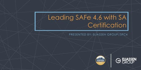 Leading SAFe 4.6 with SA Certification - Austin tickets