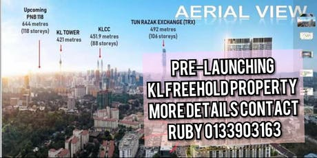 New Luxurious KL FREEHOLD property unit with sky facilities, valued RM 475K onwards tickets