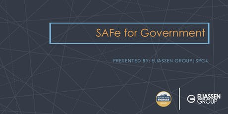 SAFe for Government 4.6 with SGP Certification - DC tickets