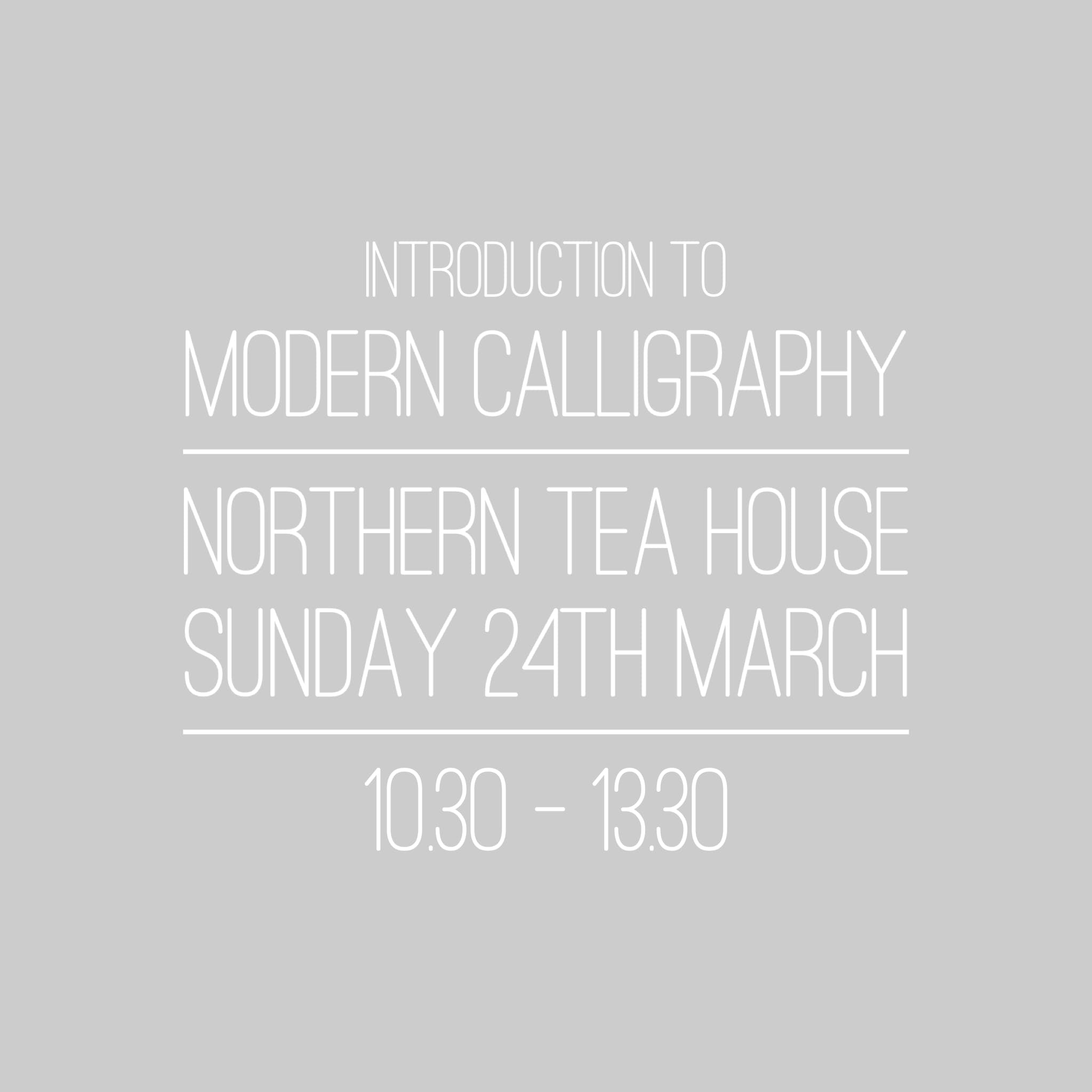 Introduction to Modern Calligraphy - Huddersf