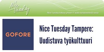 Nice Tuesday Tampere & Gofore: Uudistuva työkulttuuri