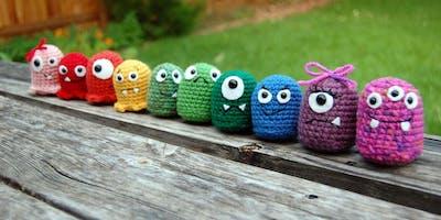 January Make-Along: Crochet 101 Makin' Monsters!