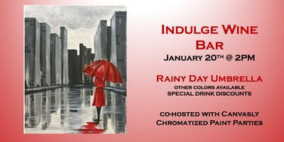 Indulge Paint&Sip: Rainy Umbrella