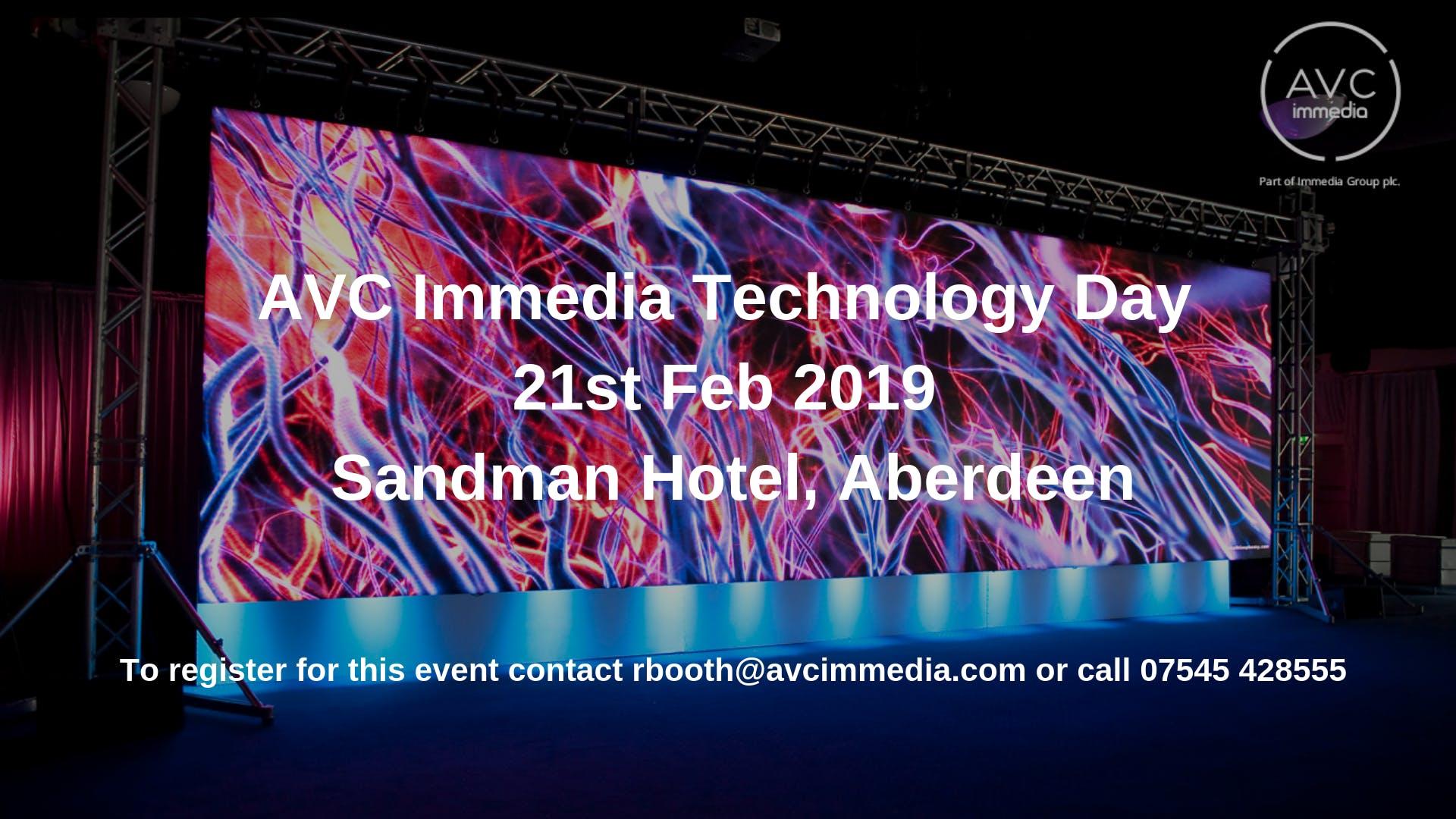 AVC Immedia Technology Day