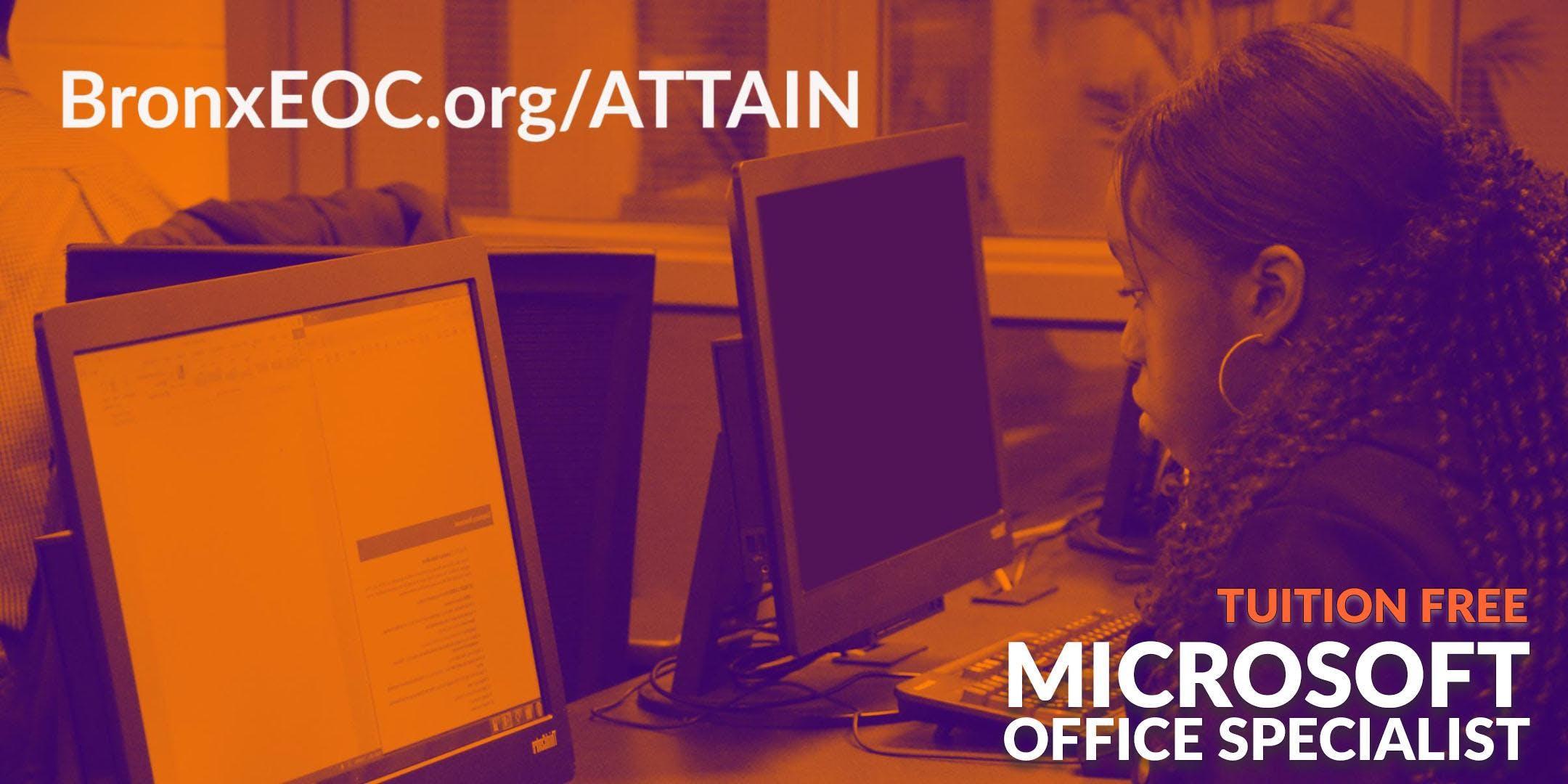 Free Microsoft Office Specialist Certification Orientation January