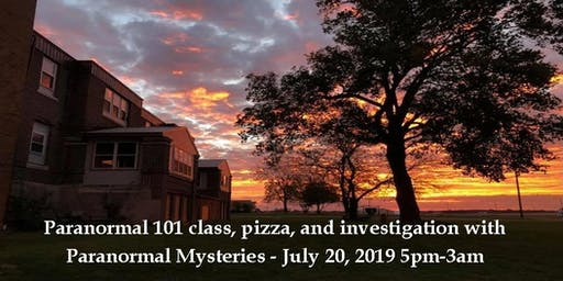 101 Class & Public Investigation with Paranormal Mysteries