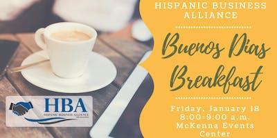 HBA January 2019 Buenos Dias Breakfast