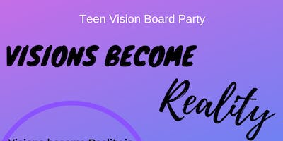 Teen Vision Board Party