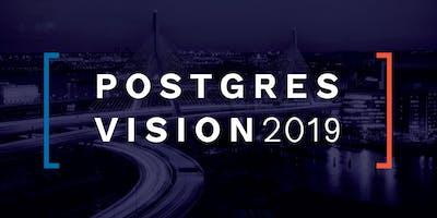 Postgres Vision 2019