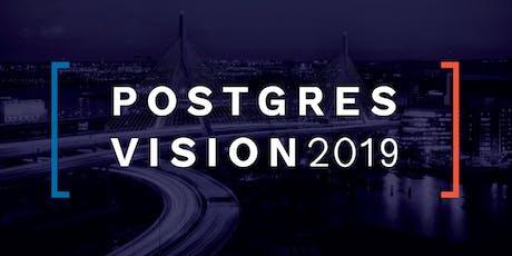 Postgres Vision 2019 tickets