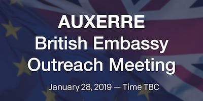 British Embassy Citizens Outreach - AUXERRE