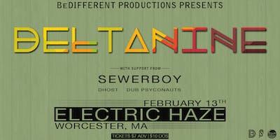 BeDifferent Presents: DELTAnine w/ Sewerboy, Dhost, Dub Psyconauts