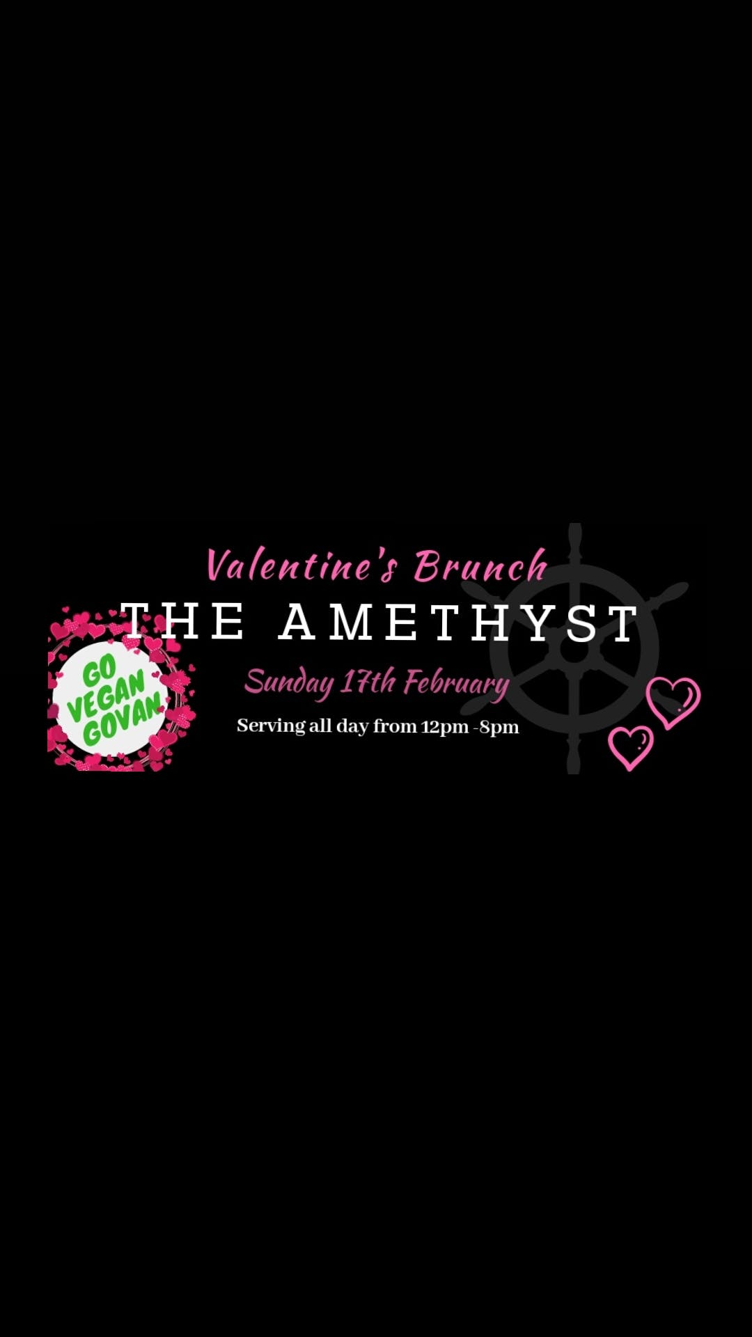 Valentine's All Day Brunch @ The Amethyst
