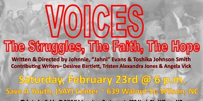 VOICES~The Struggles, The Faith, The Hope