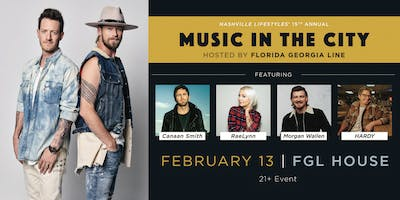 Nashville Lifestyles' Music in the City: Hosted by Florida Georgia Line