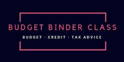 Budget Binder Class