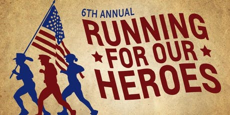 6th Annual Running For Our Heroes 5K tickets