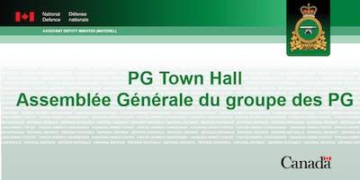 PG TOWN HALL / ASSEMBLÉE GÉNÉRALE DU GROUPE DES PG