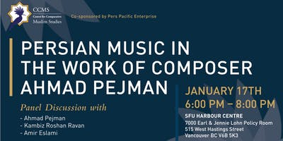 Persian Music in the Work of Composer Ahmad Pejman