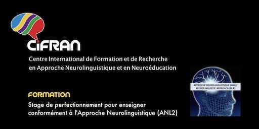 ANL2- Québec - Stage de perfectionnement pour enseigner conformément à l'Approche Neurolinguistique