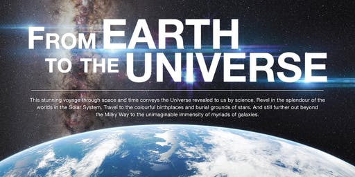 From Earth to the Universe - June 18 2019