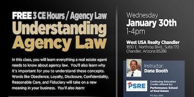 Understanding Agency Law (3CE Hrs)