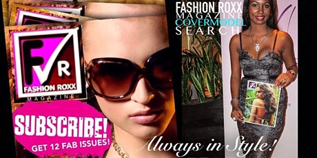 Fashion Roxx Model Bootcamp I  Subscription I Enter Our Cover Model Search tickets