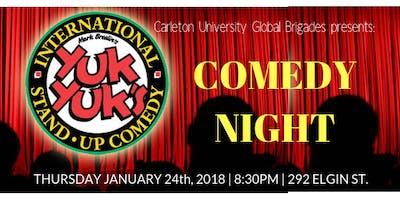 Global Brigades Comedy Night @ Yuk Yuk\
