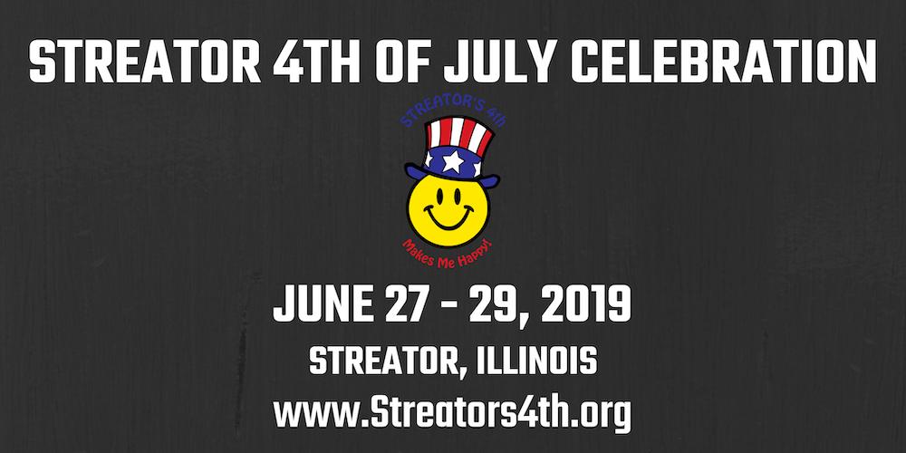 Streator Illinois Map.Streator 4th Of July Celebration Tickets Thu Jun 27 2019 At 7 00