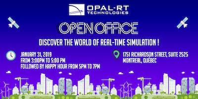 Open Office / Portes Ouvertes  OPAL-RT TECHNOLOGIES