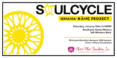 SoulCycle with Claire's Place Foundation