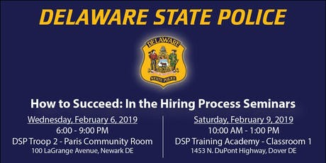 Delaware State Police Recruiting Unit Events | Eventbrite
