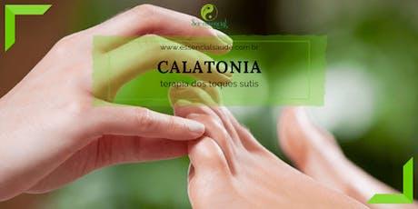 Calatonia - terapia dos toques sutis ingressos