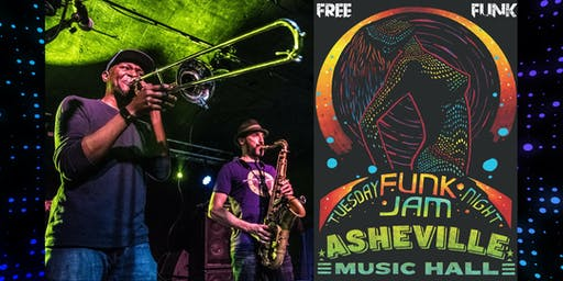Tuesday Night Funk Jam | Asheville Music Hall
