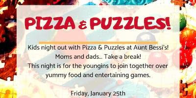 Aunt Bessi Event: Pizza & Puzzles