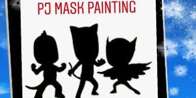 PJ Mask Paint Party