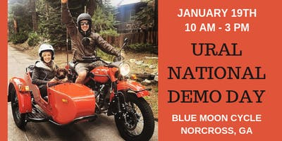 Ural Sidecar Motorcycle Demo Day January 19, 2019