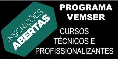 Inscrições abertas: Programa VEMSER