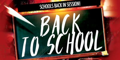 Back to School @ The Greatest Bar